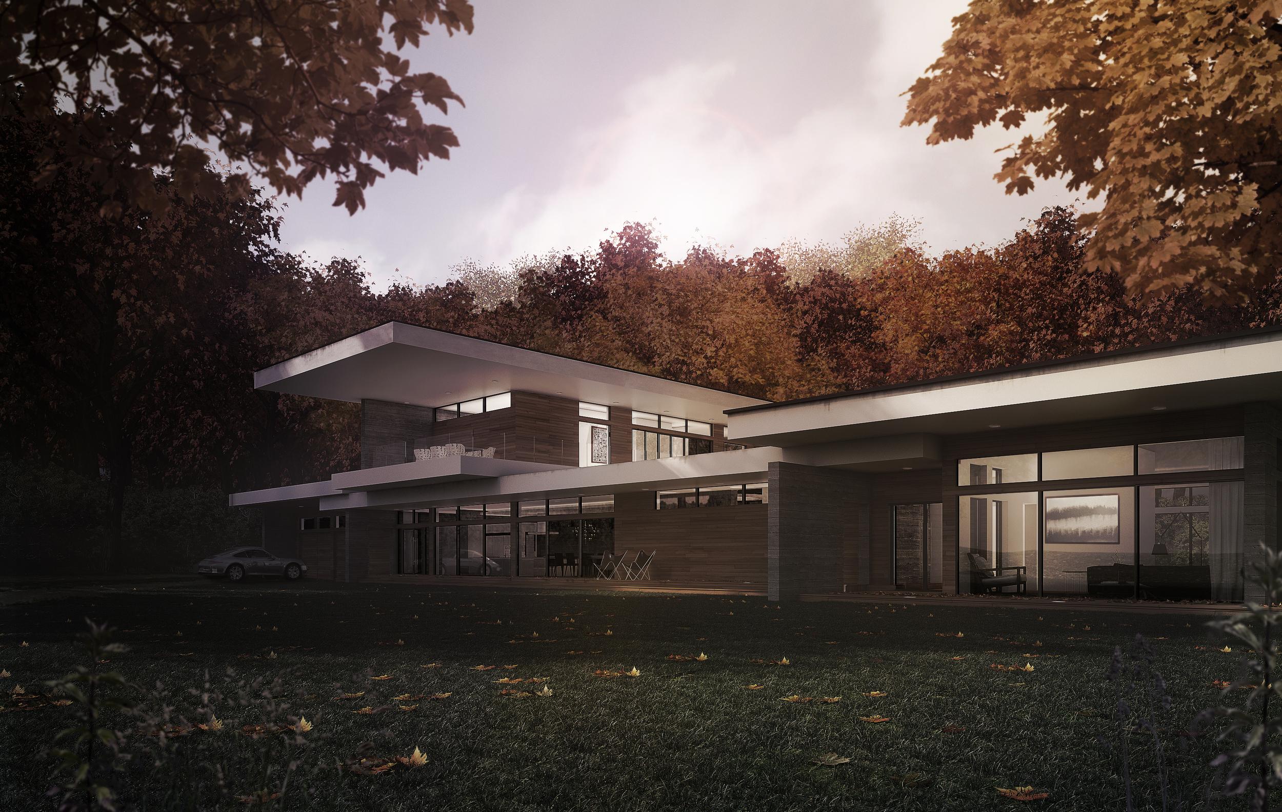 ARCHITECTURE: Vue avant