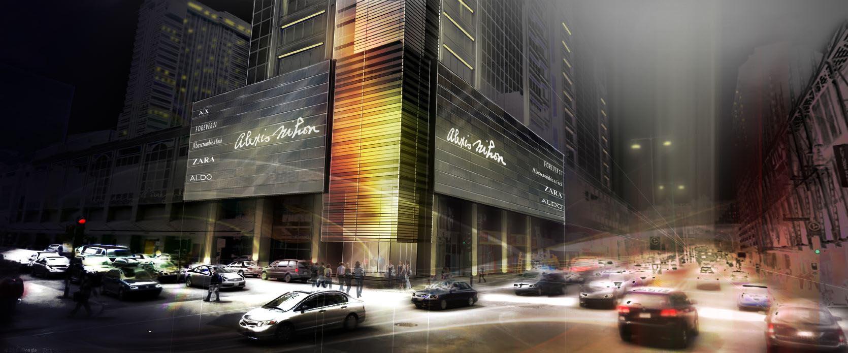 Concept architectural de la place Alexis Nihon
