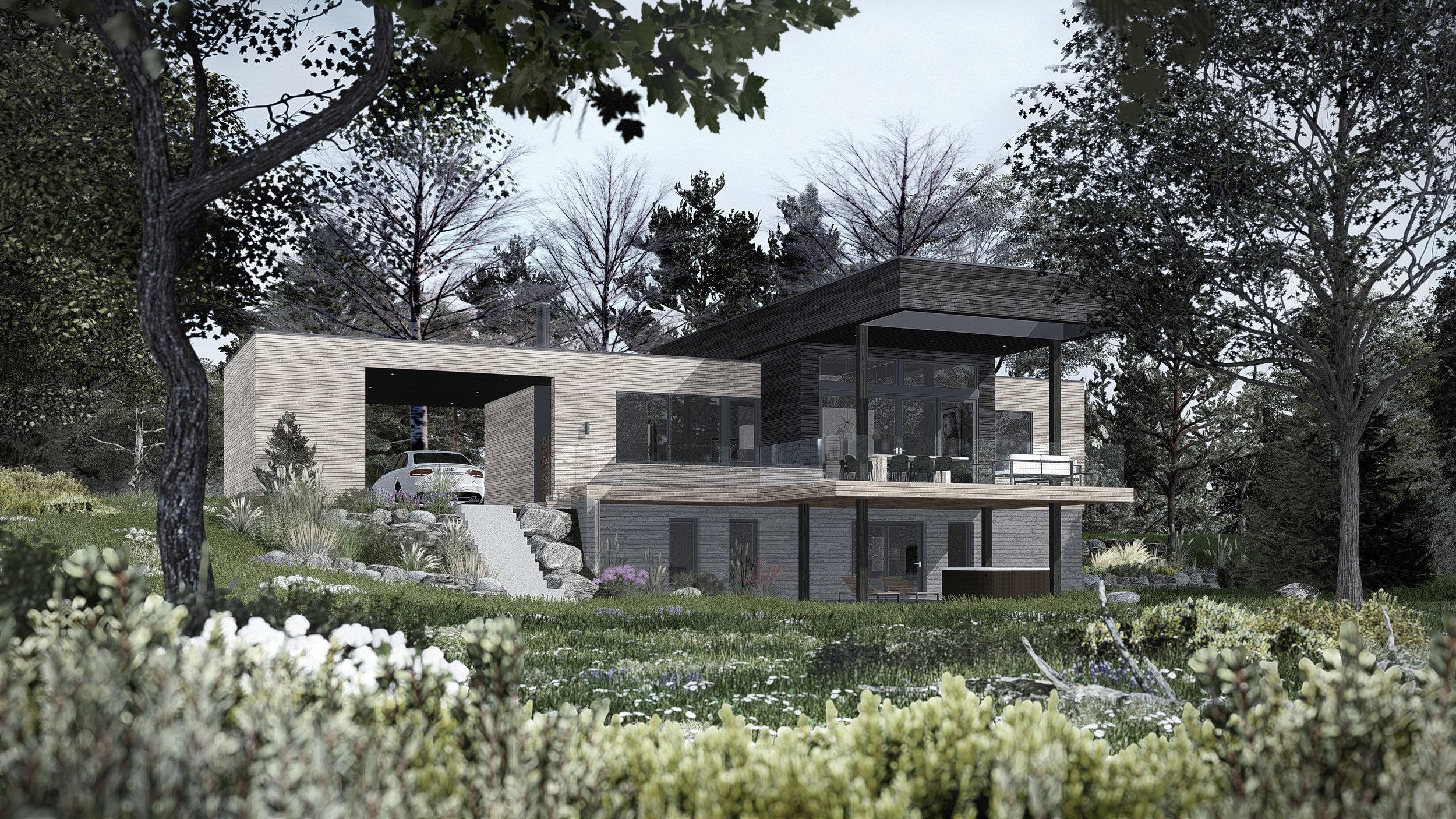 Architecture Vue arrière