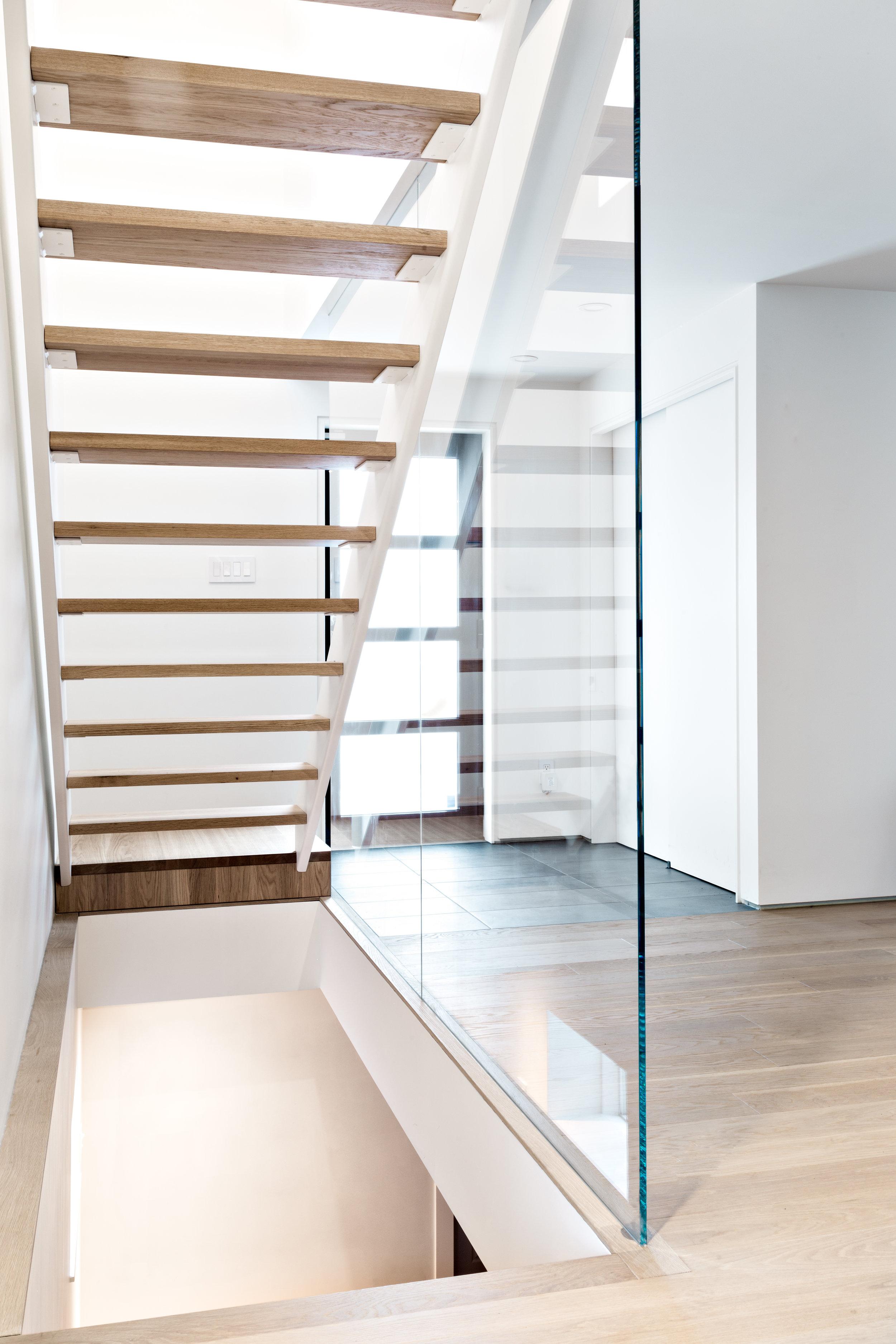 Entrée et escalier