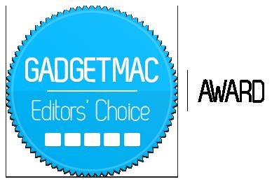 Gadgetmac Editors' Choice 5 Star Rating.png