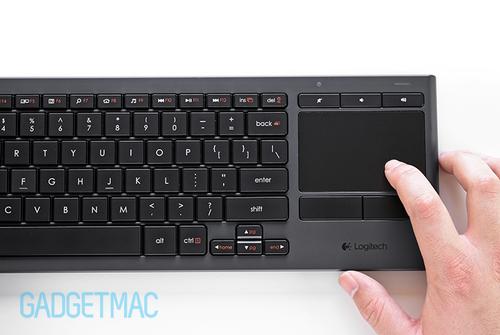 Logitech K830 Illuminated Wireless Living-Room Keyboard