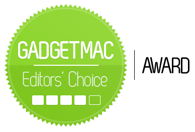 Gadgetmac Editors' Choice 4 Star Rating.png
