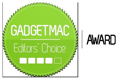 Gadgetmac Editors' Choice 4 Star Rating.png