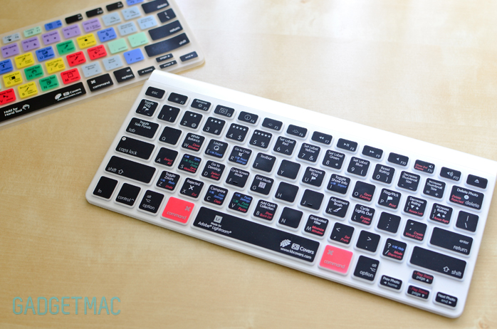 low priced af381 74df1 KB Covers Lightroom & Photoshop Apple Keyboard Covers Review — Gadgetmac