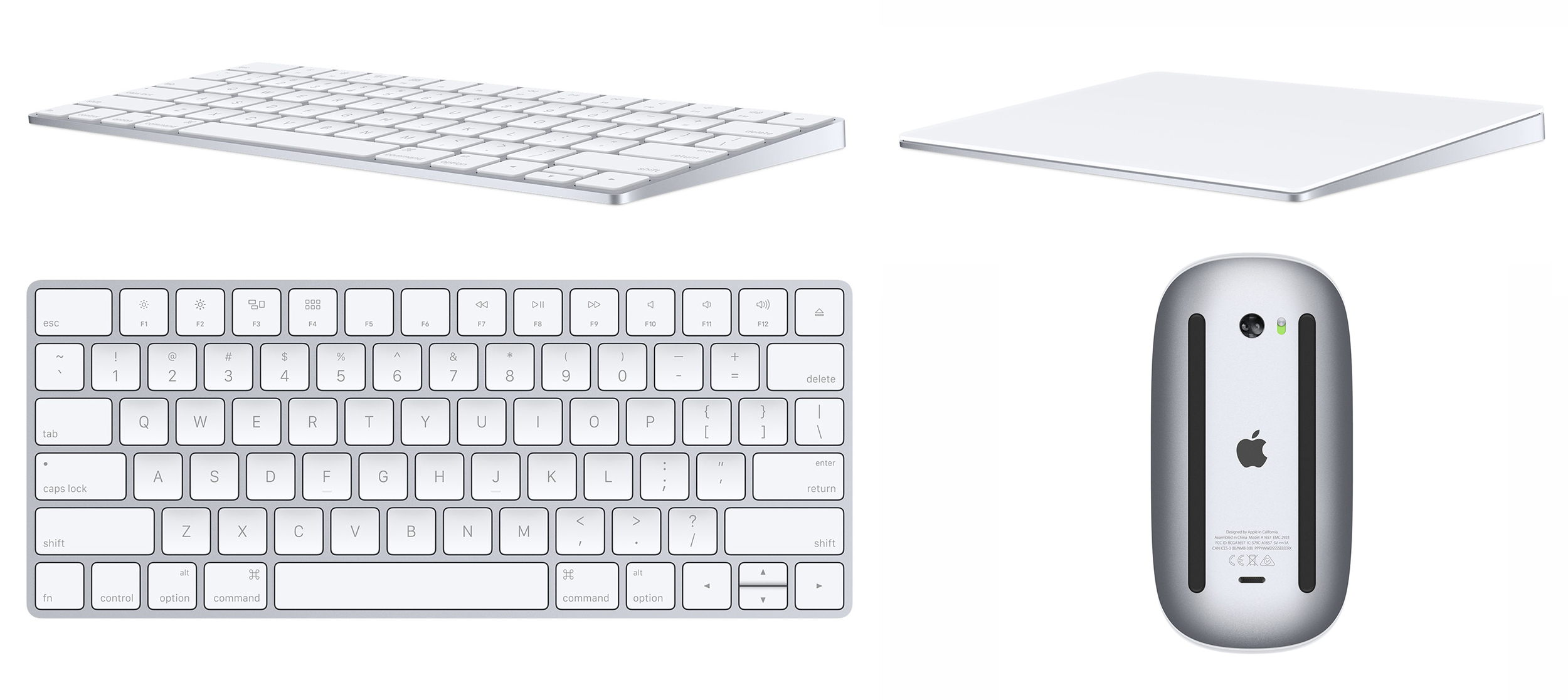 69287592f66 Apple's New Mac Accessories Include Magic Keyboard, Magic Trackpad 2 ...