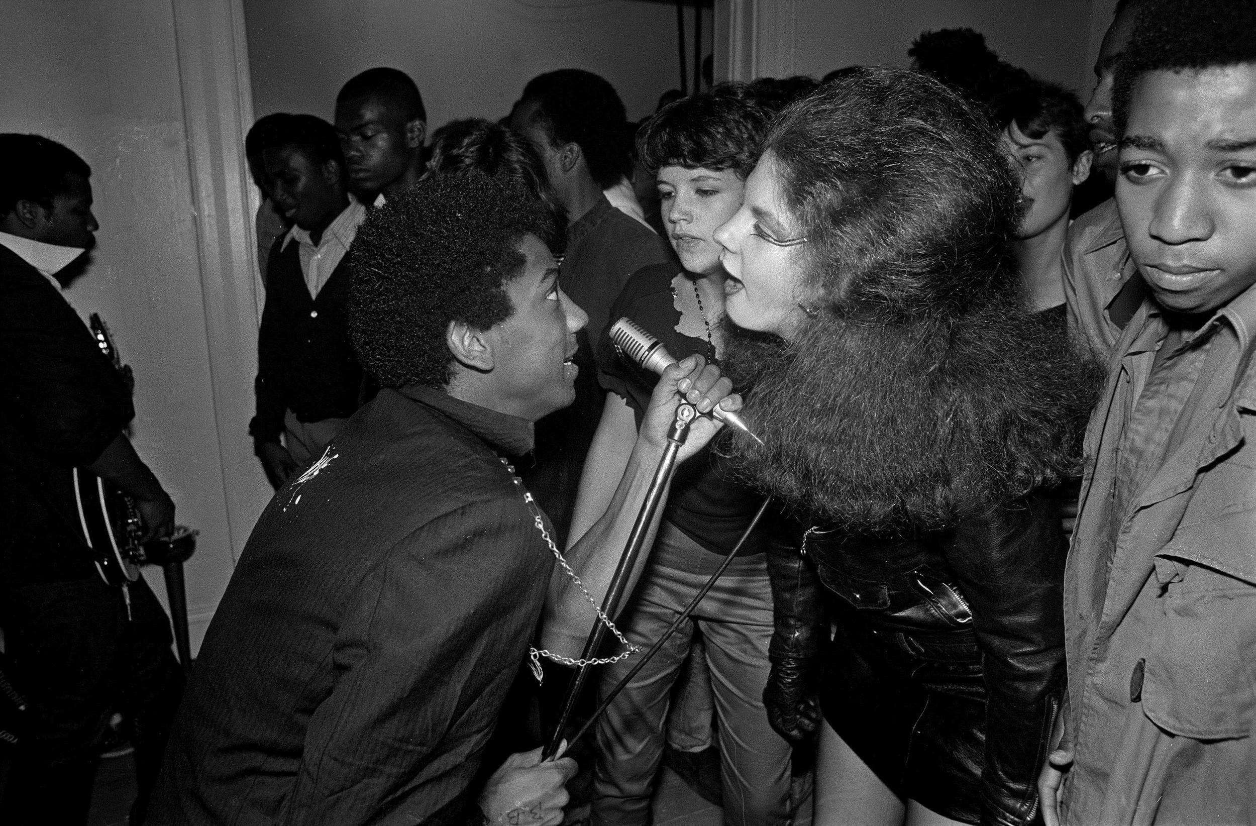 """I googled """"punk"""" + the year I was born and this awesome photo of Bad Brains came up."""