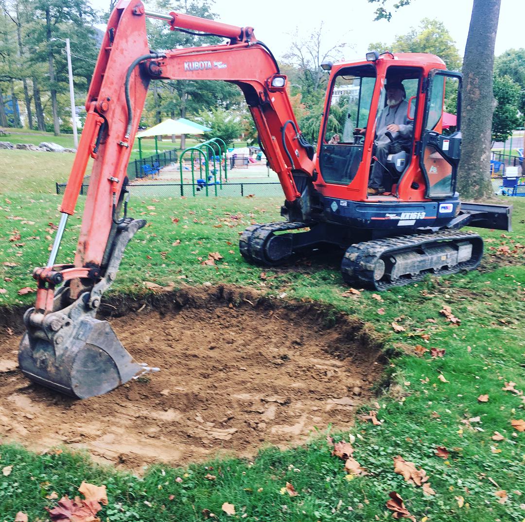 Digging the sandbox