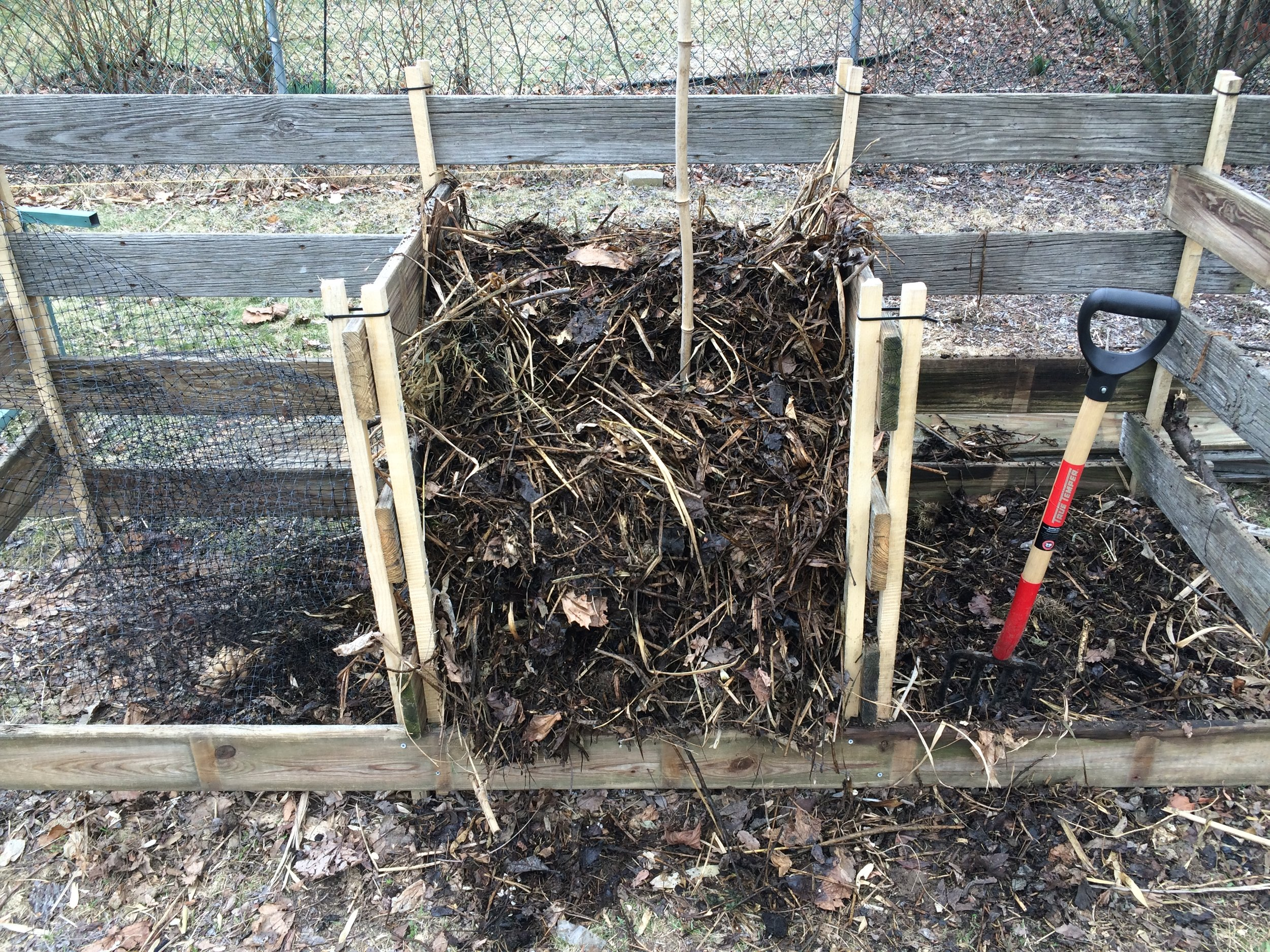 The first compost system