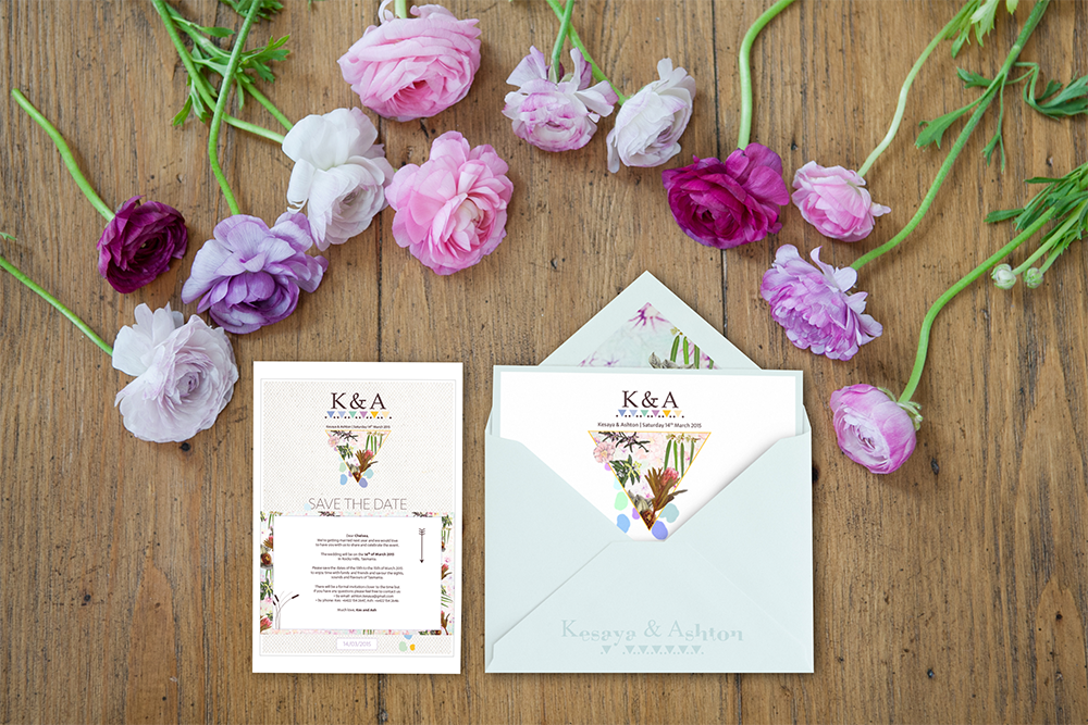 Invitation et save the date mariage