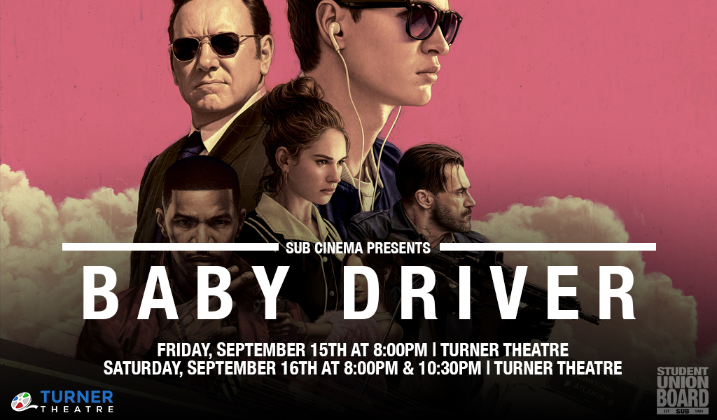 Don't miss out on this unique movie that mixes the pop culture with old fashioned filmmaking! See it on either Friday at 8:00pm or Saturday at 8:00pm or 10:30pm in Turner Theatre.