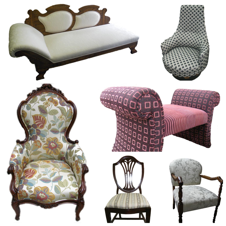 Rembourrage Larrivée, spécialiste de la rive-nord pour le rembourrage des chaises et fauteuils de salon, cuisine ou chambre