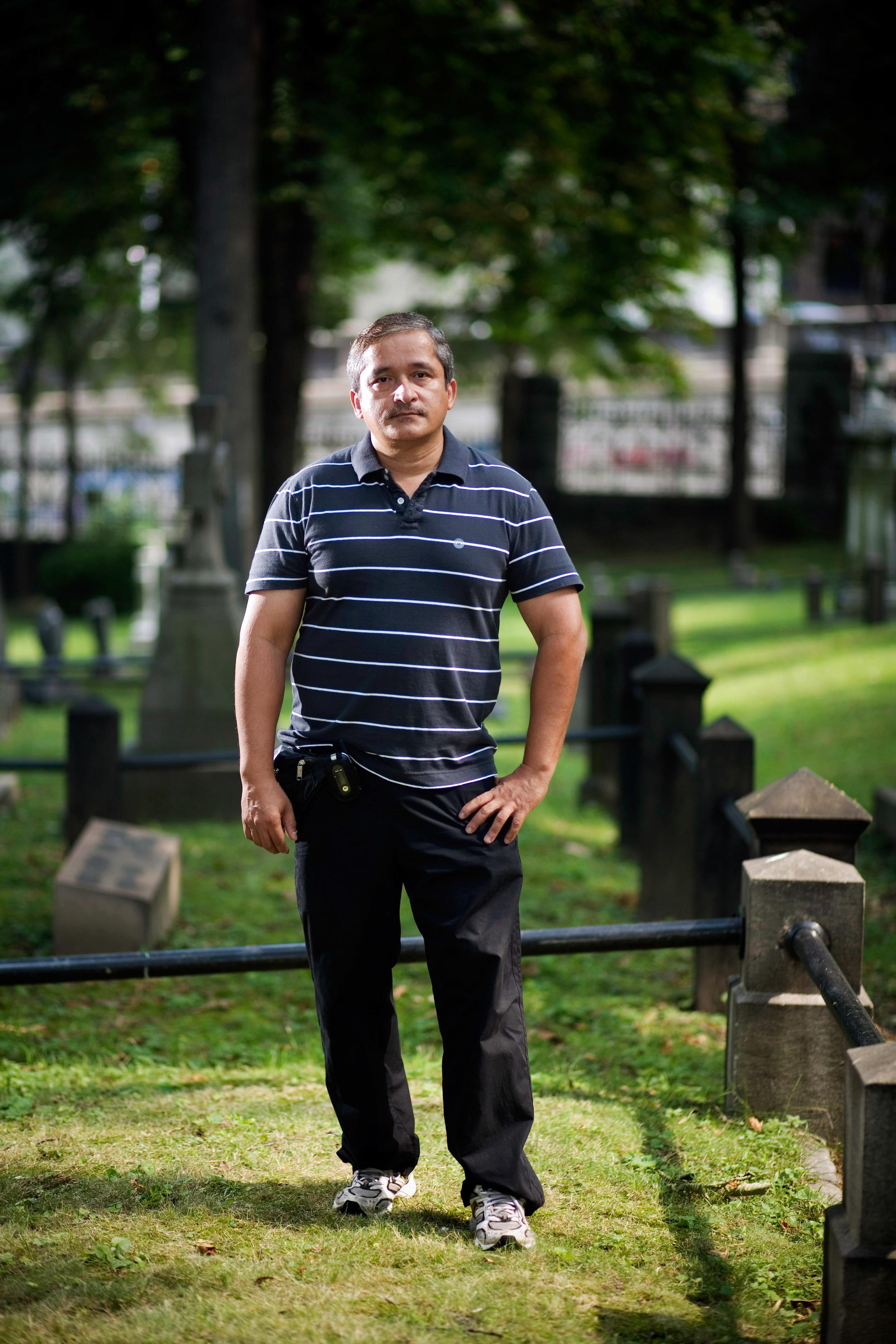 Occult Detective, Trinity Cemetery