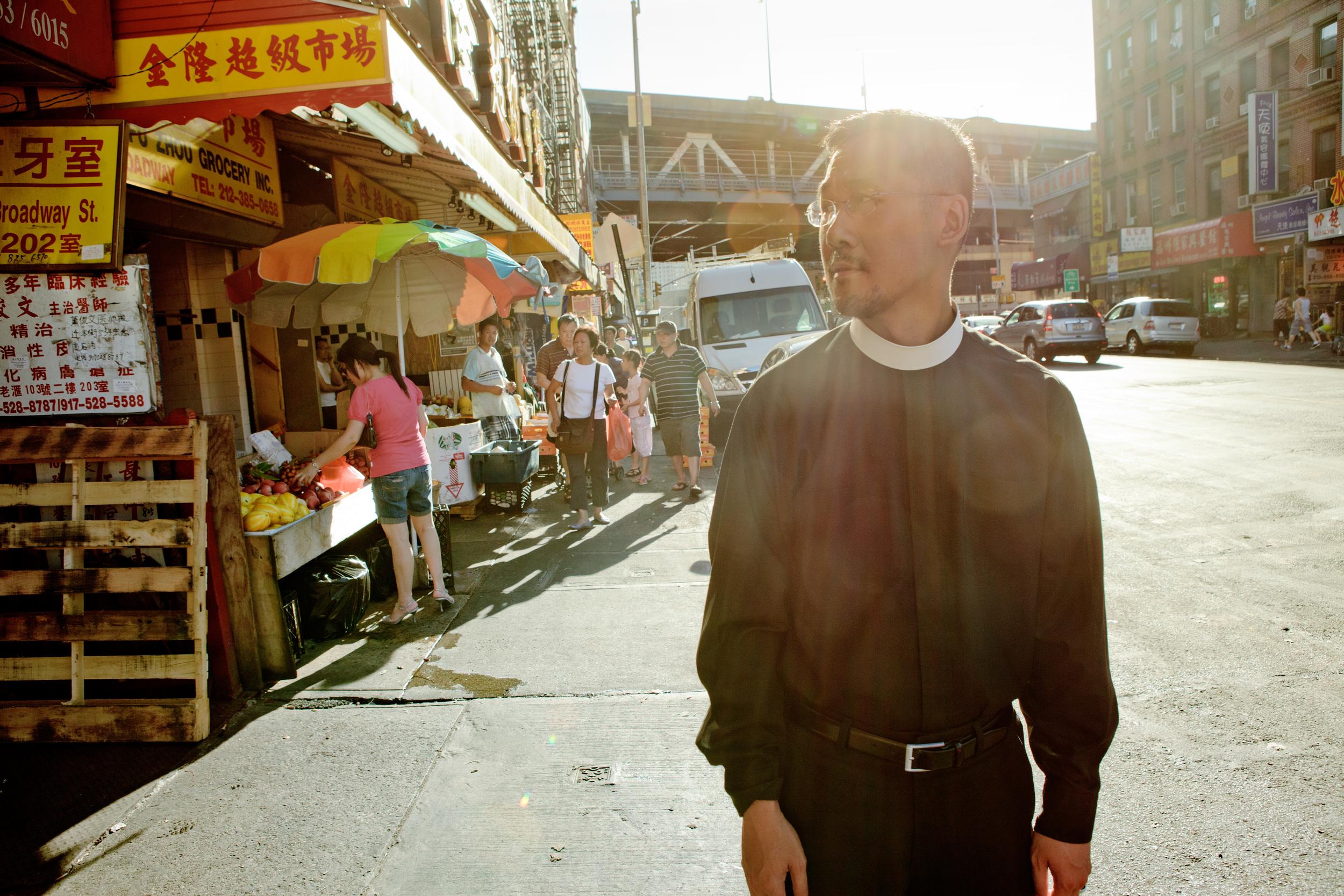 Rev. Noel Bordador, Episcopal Priest