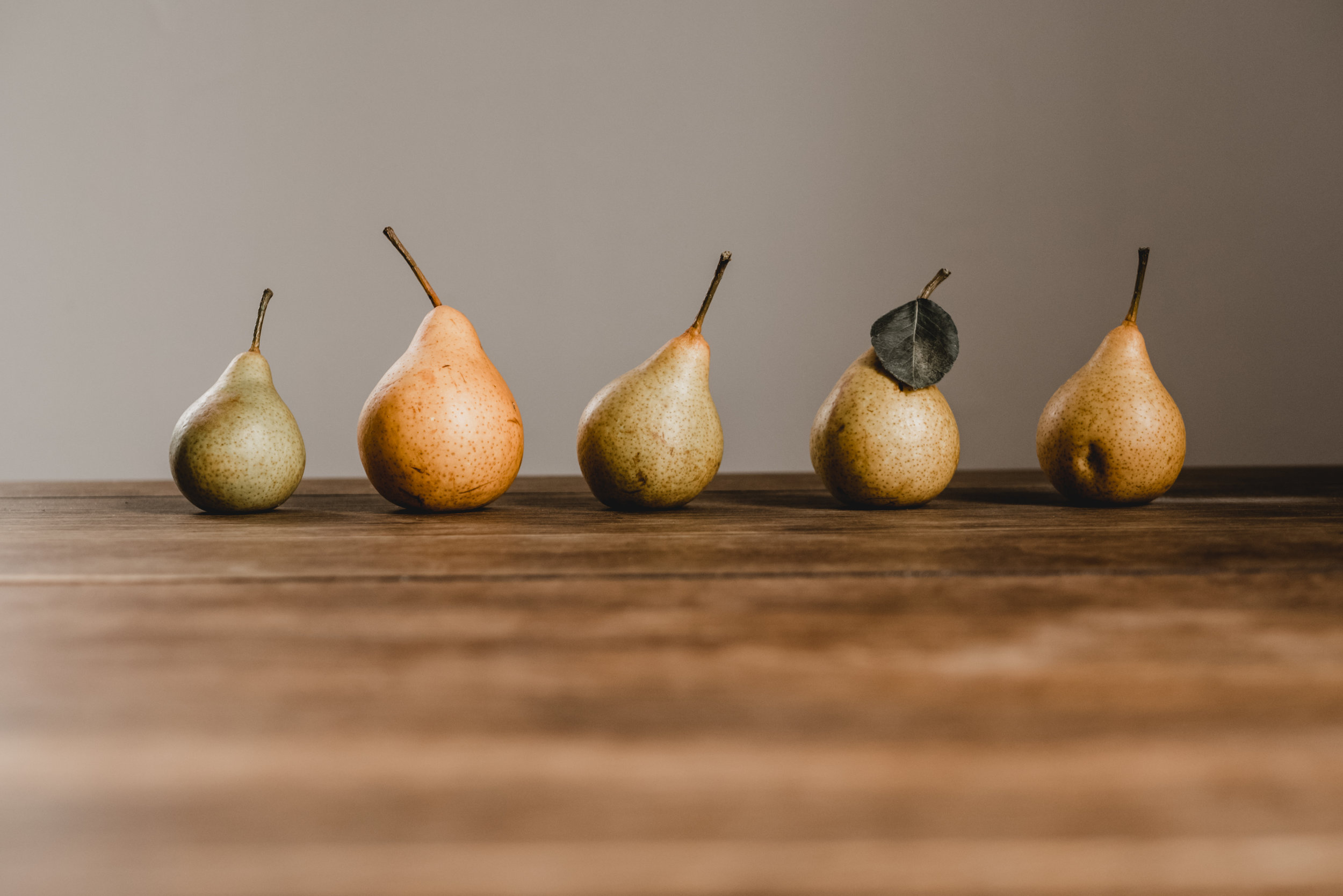 Pears and other compact fruits help nourish your Lung Yin.