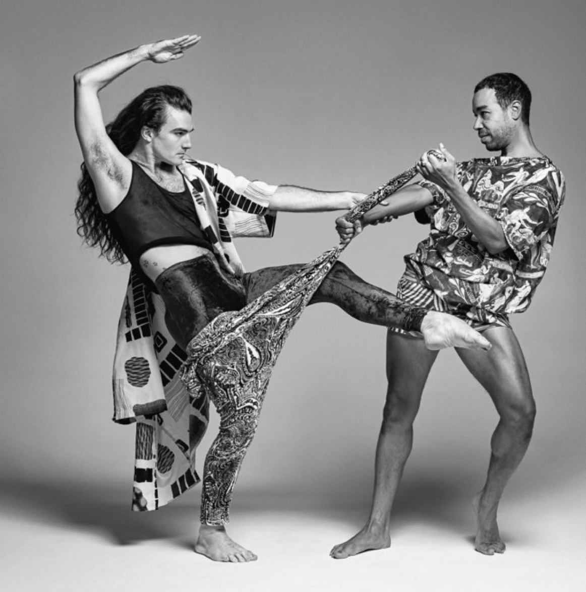 2019 Fall Teaching Artist  Rashaun Mitchell & Silas Riener   Photo of Rashaun Mitchell & Silas Riener by Paola Kudacki