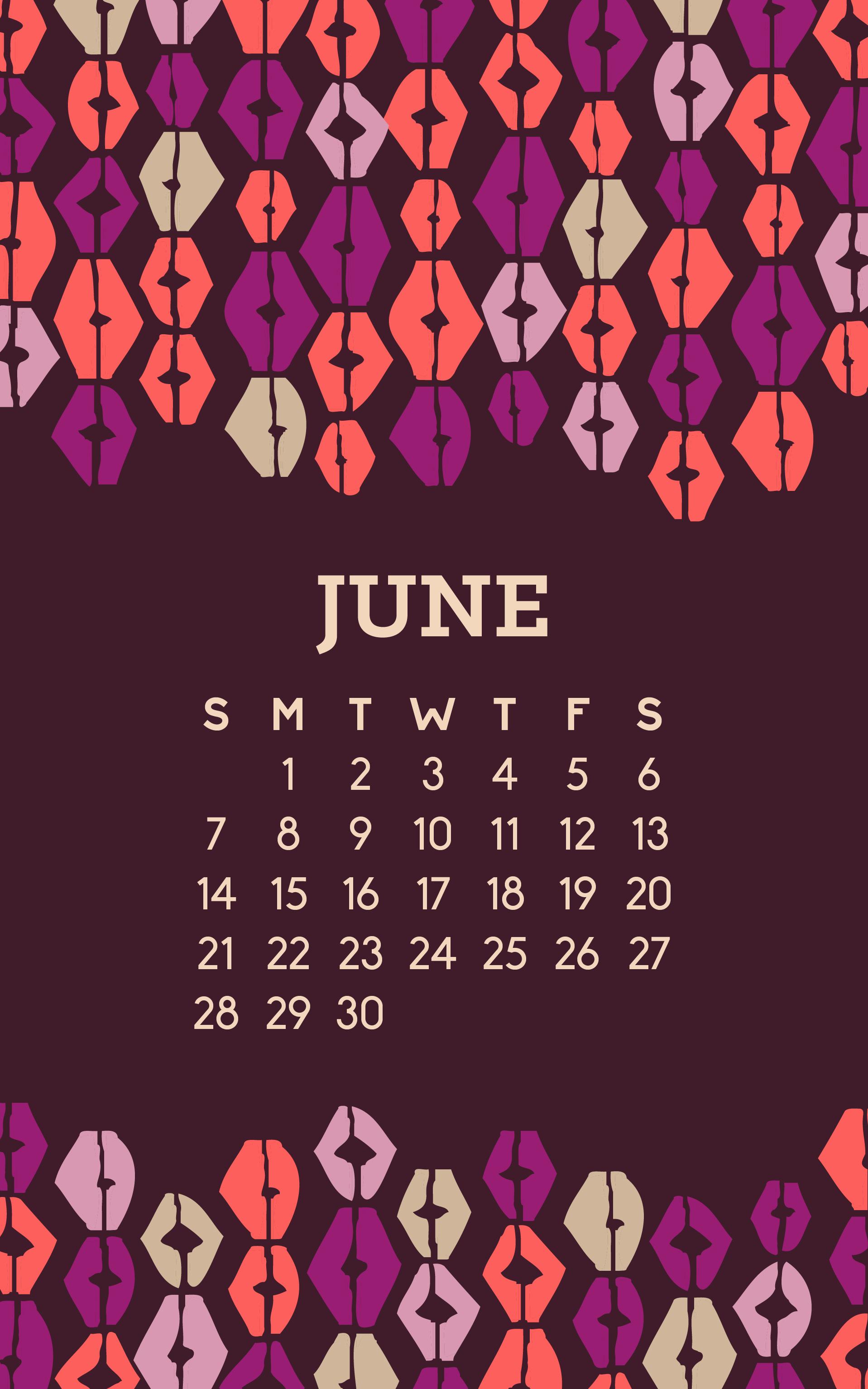 June Wallpaper -- Hue & Tone Creative