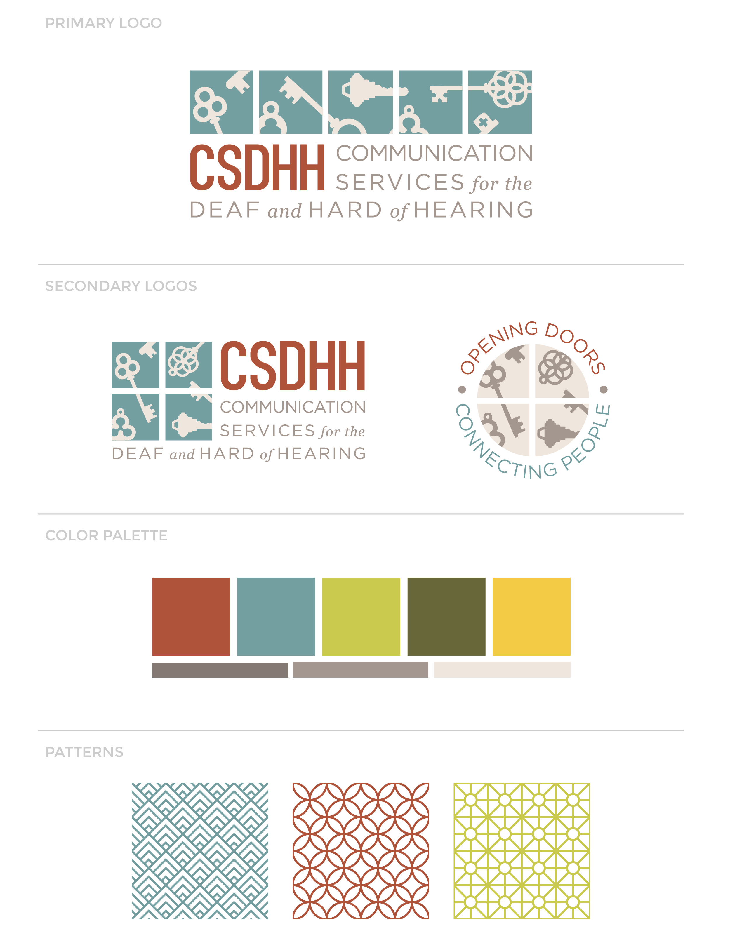 Our Work: Comprehensive branding for CSDHH -- Hue & Tone Creative