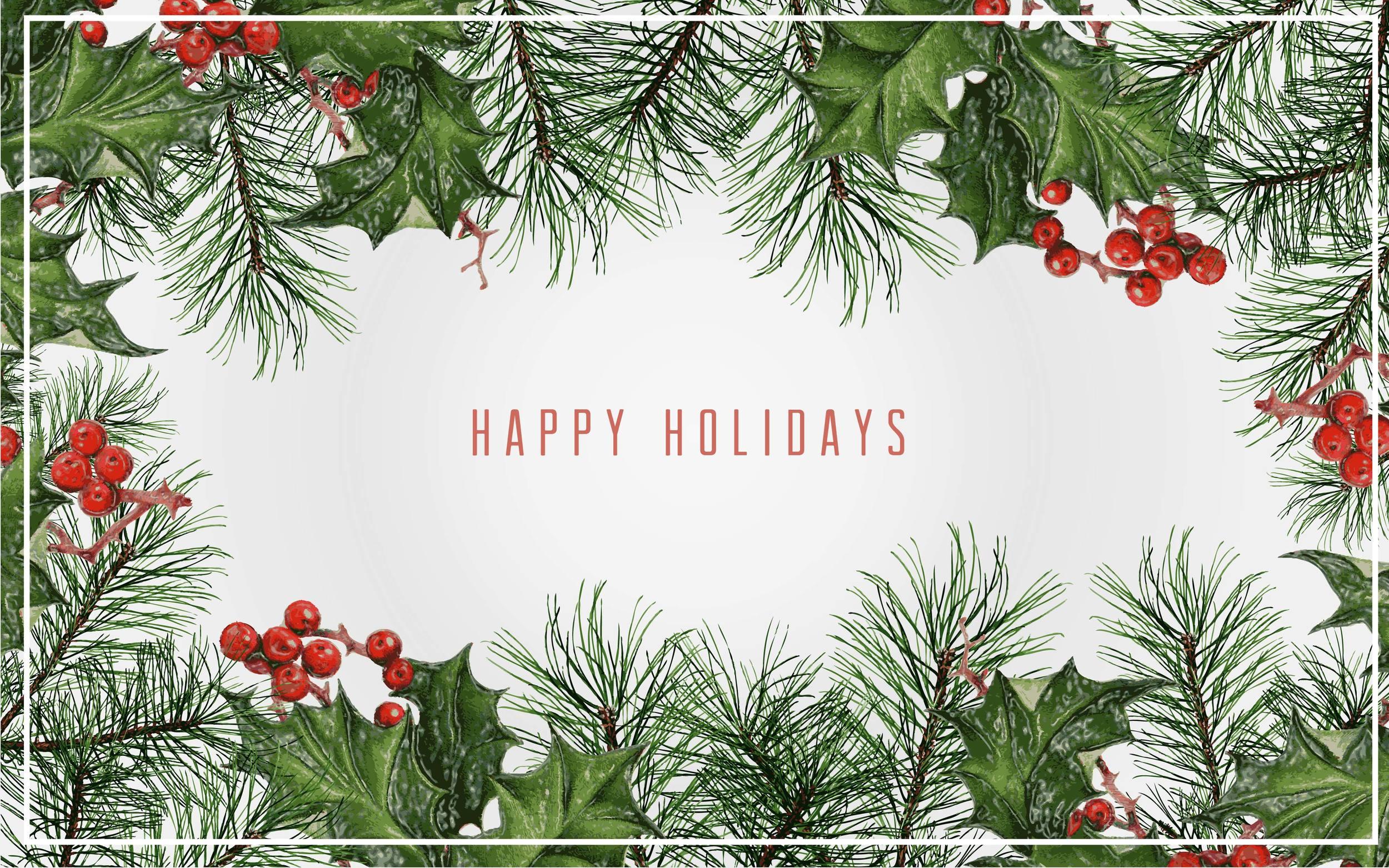 Happy Holidays -- Hue & Tone Creative