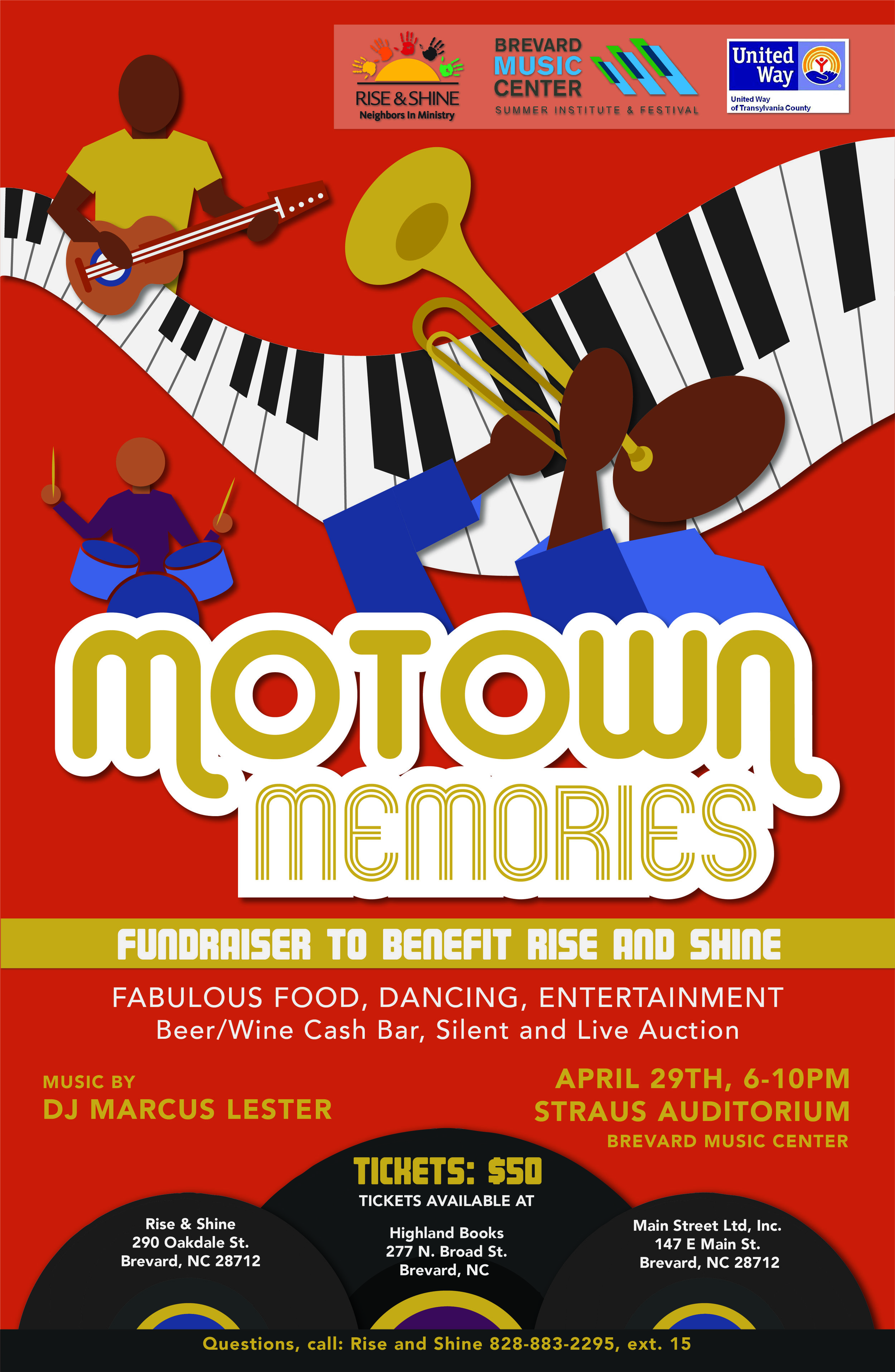 Motown Memories  |  Hue & Town Creative
