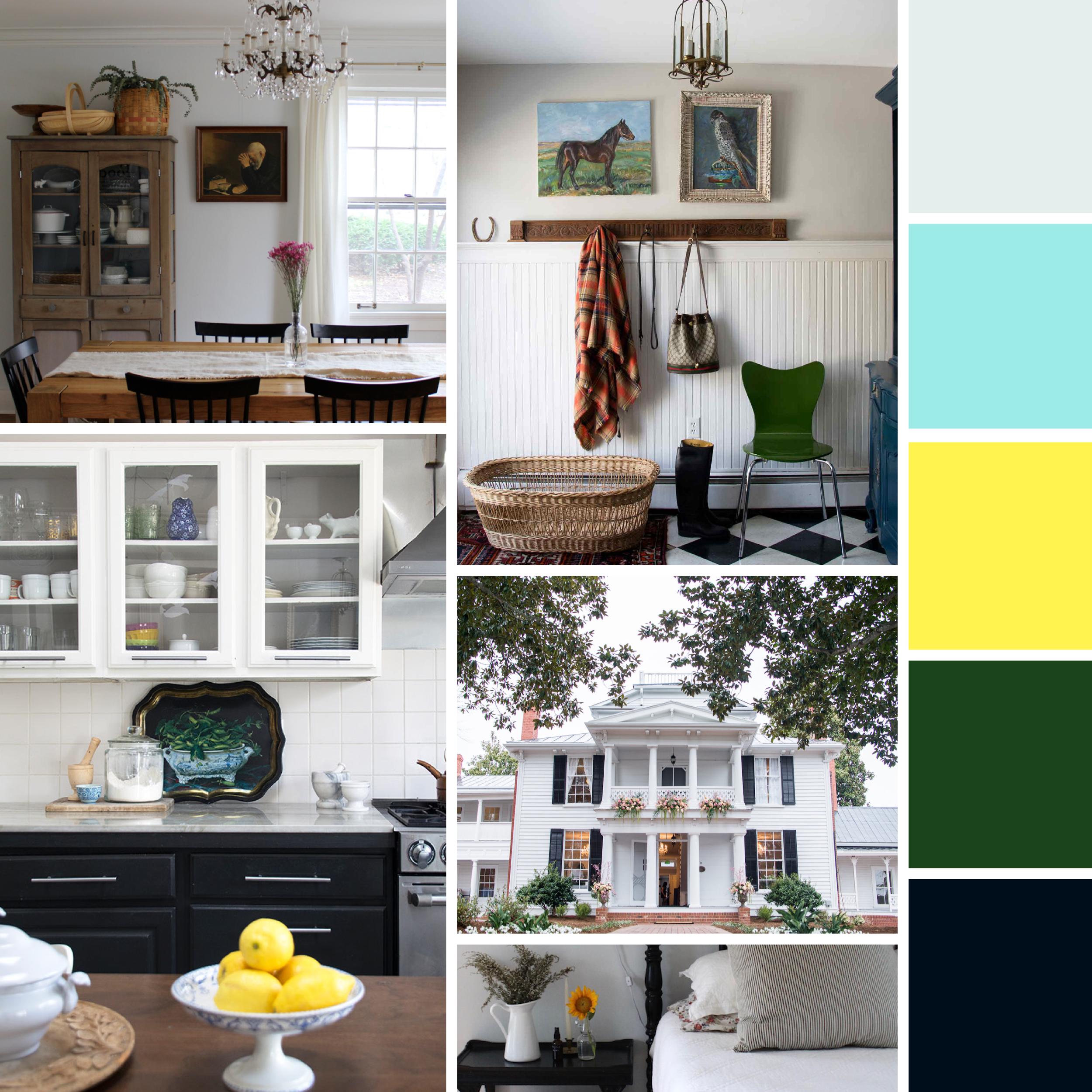 Moodboards: Home Sweet Home  |  Hue & Tone Creative
