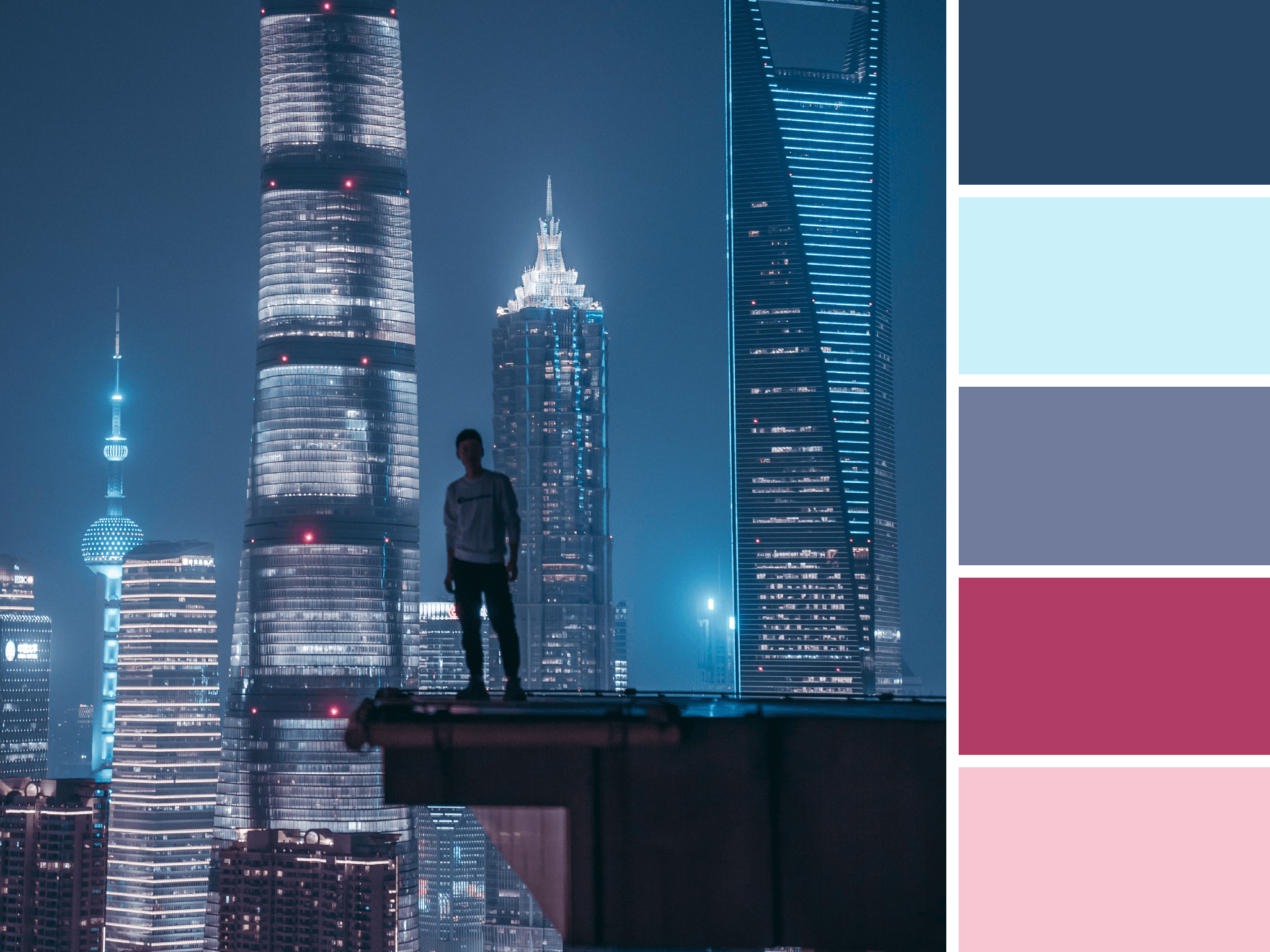 Color Stories: City Views  |  Hue & Tone Creative
