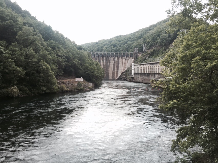 Cheoah Dam - they filmed The Fugitive here.