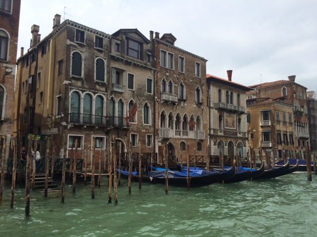 The architecture. The gondolas. Truly the best. The Grand Canal of Venice, Italy. June 2015