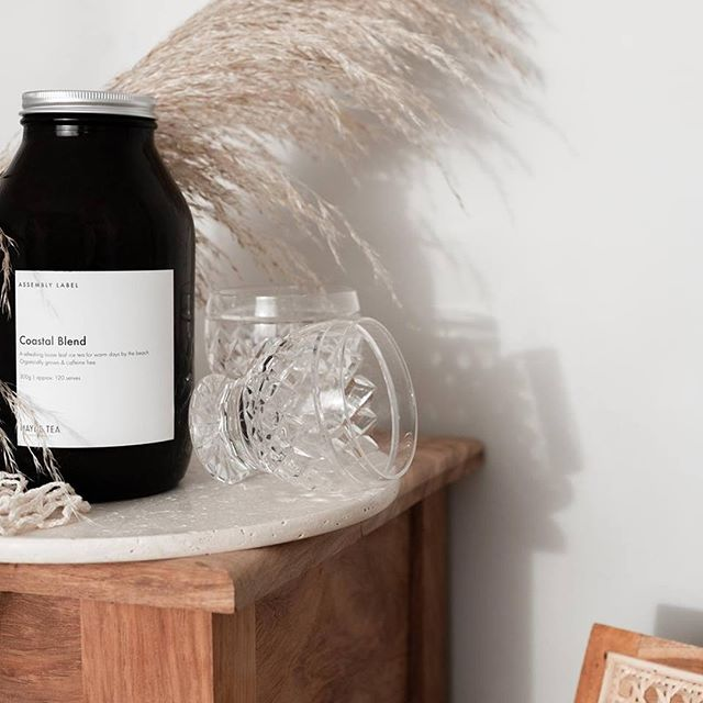 Currently Serving In salon ⠀ COASTAL BLEND by Mayde Tea⠀ ⠀ ⭐Therapeutic benefits⠀ The caffeine-free, herbal blend has been designed to cool, soothe and tone the length of the digestive system, reducing inflammation and improving it's integrity. The herbs in the Coastal Blend have traditionally been prescribed to improve the nervous system function, reducing anxiety and improving mood.⠀ ⠀ ⭐Ingredients:⠀ Lime peel, lemon peel,marshmallow leaf,peppermint,lemon balm,calendula⠀ ⠀ .⠀ .⠀ .⠀ .⠀ ⠀ #maydetea #health #organic #sustainable #tea #organictea #byronbay #plantbased #naturopath #wellness #herbaltea #vegan #movenourishbelieve  #staypositive #positive #dream #healthylifestyle #naturalbeauty #goddess #cookshill #crysalisloves #newcastlehairdresser #newcastle #toxicfree #chemicalfree #chemicalfree #chemicalfreesalon