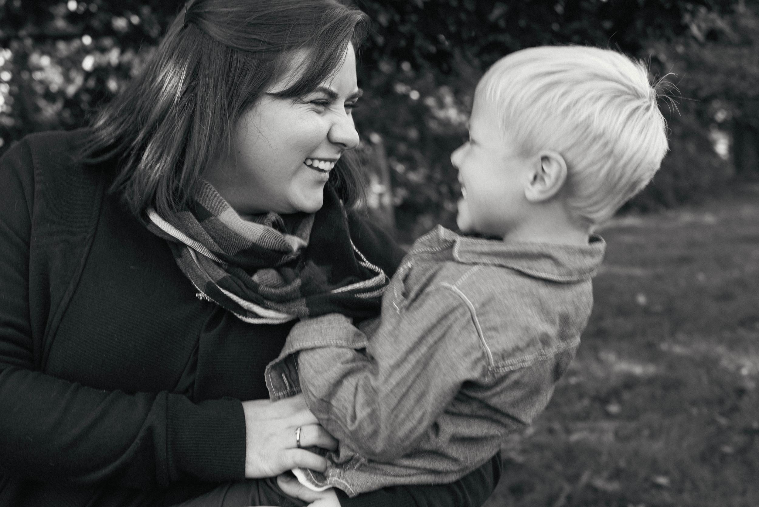 My friend Jordan with her nephew