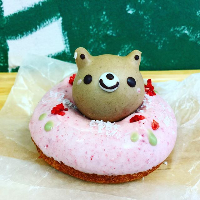 Gonna eat this lil meep!!!!! 🍩💕