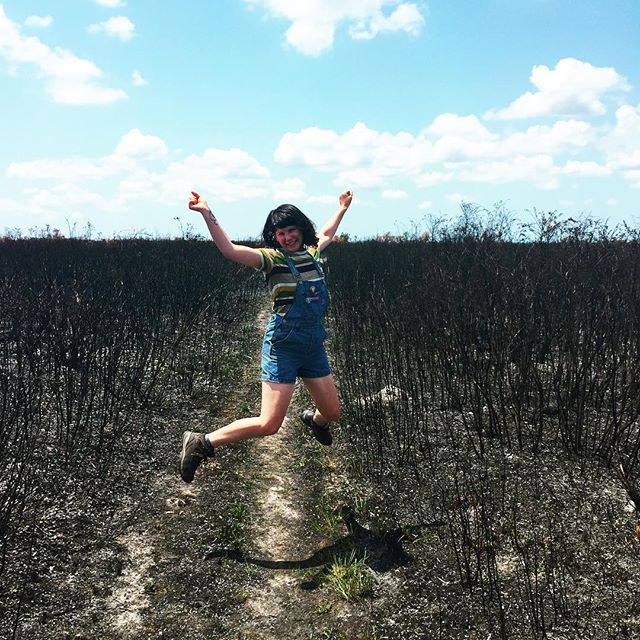 This is how I feel when state parks do controlled burning!!!