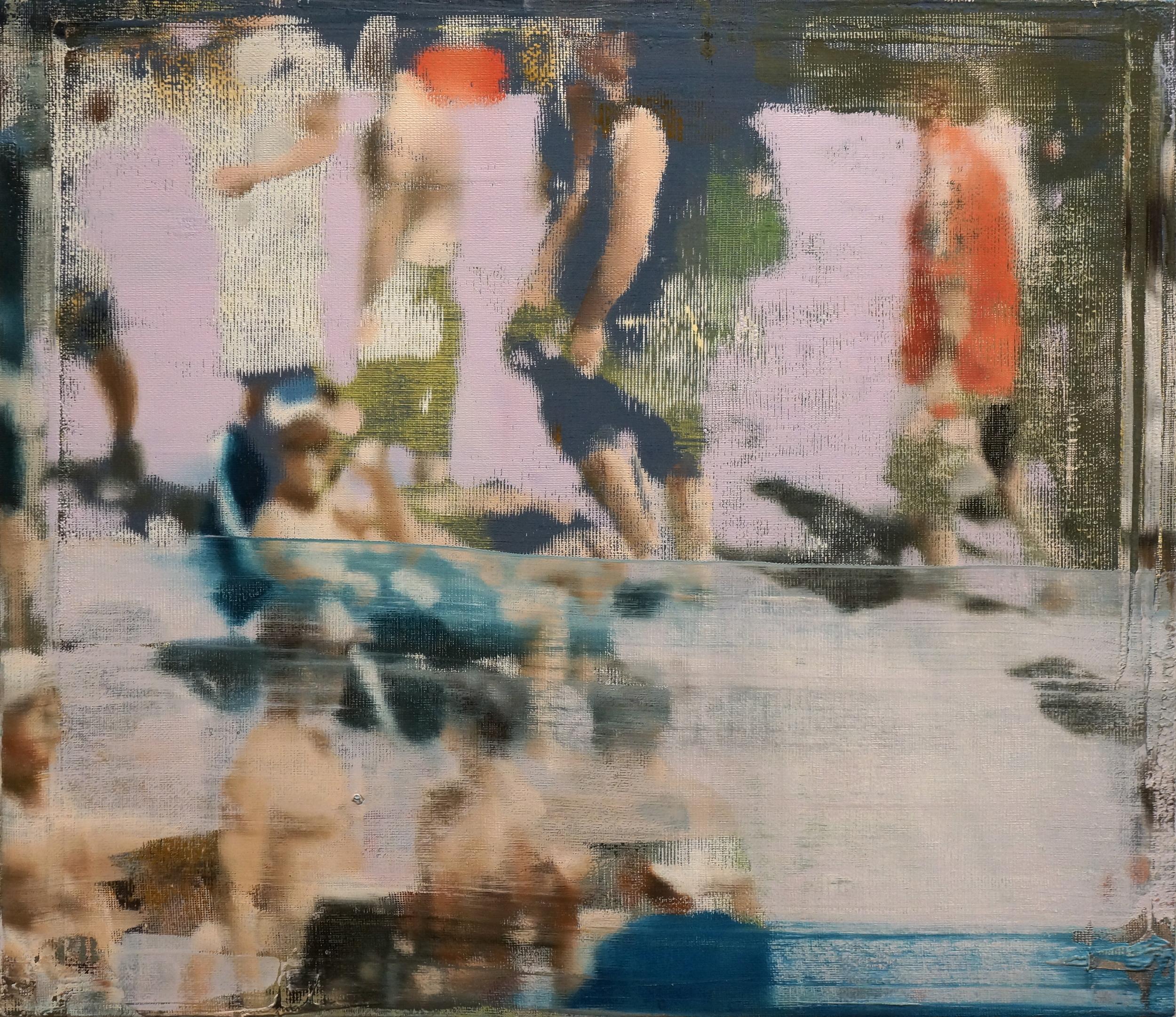 """Memory, Oil on Linen on Panel, 2014, 26"""" x 30"""""""