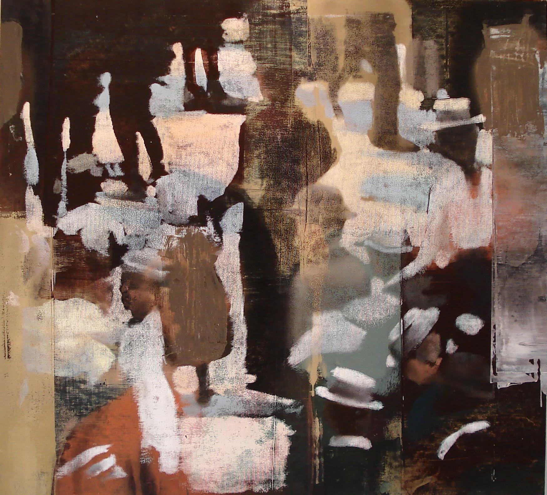 """Sunday, Oil on Linen on Panel, 2013, 48"""" x 52"""""""