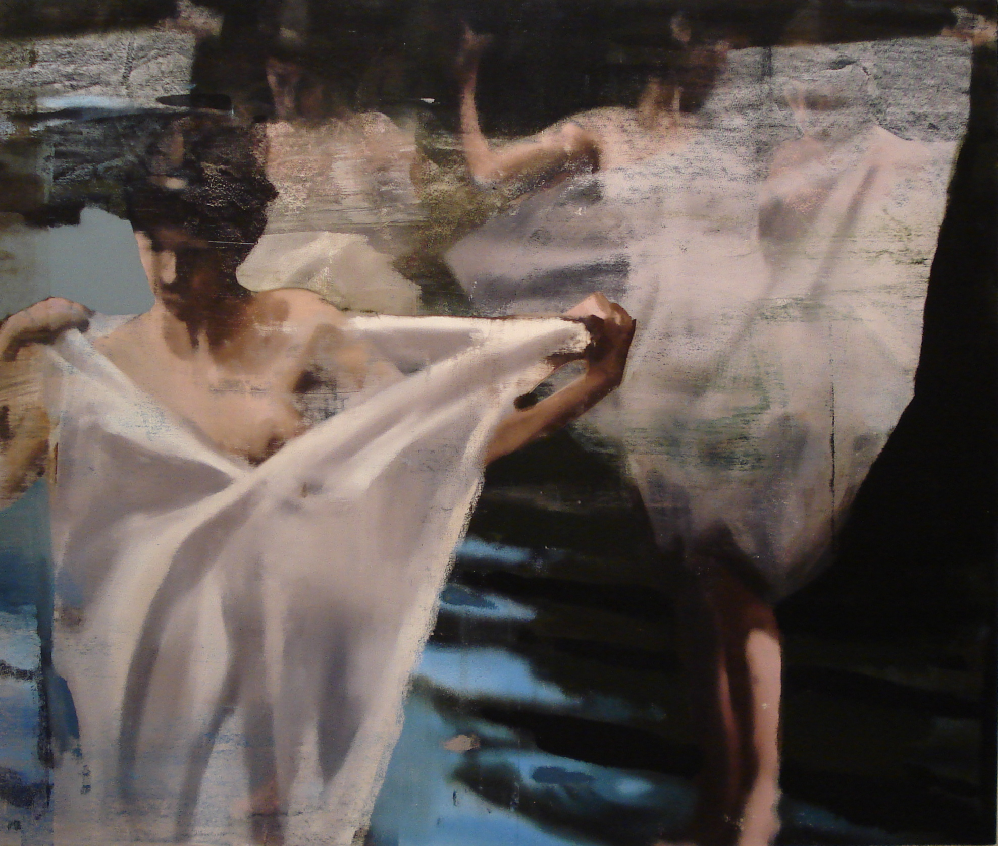 "Vulnerability, Oil on Linen on Panel, 2010, 68"" x 80"""