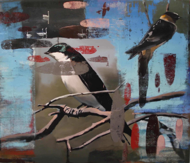 "Spring, Oil on Linen on Panel, 2011, 68"" x 80"""