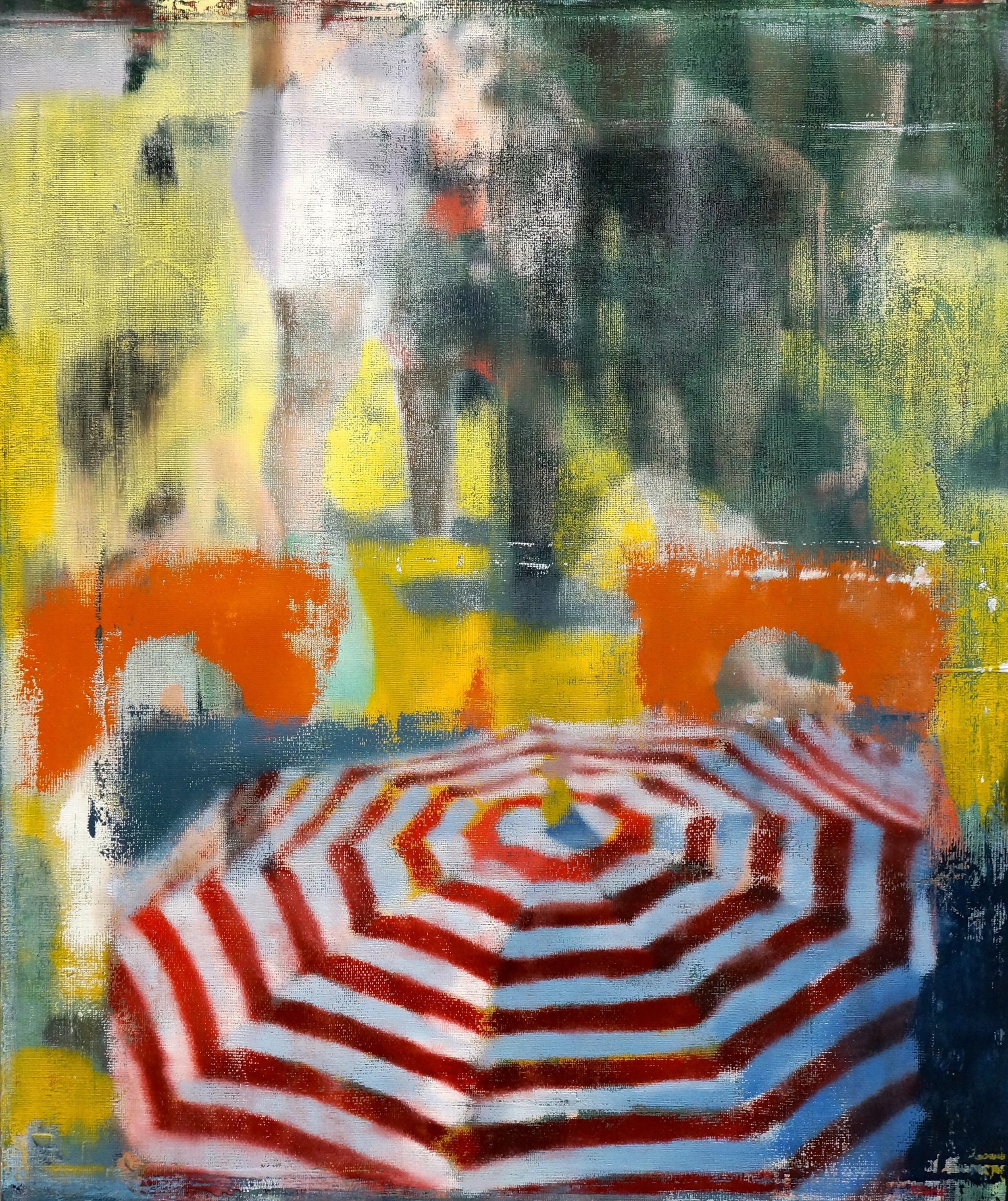"""Away, Oil on Linen on Panel, 2014, 36"""" x 30"""""""