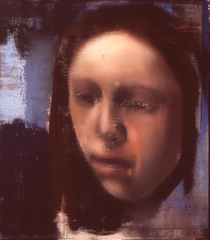 """Girl, 2005, 30"""" x 26"""""""