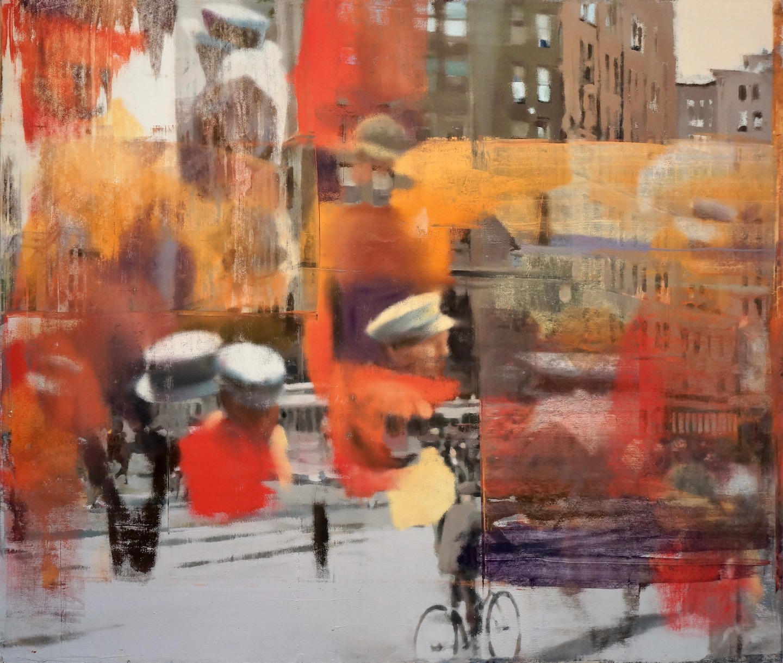 Buller I 2017 I Human Patterns I 68x80 I Oil on Linen