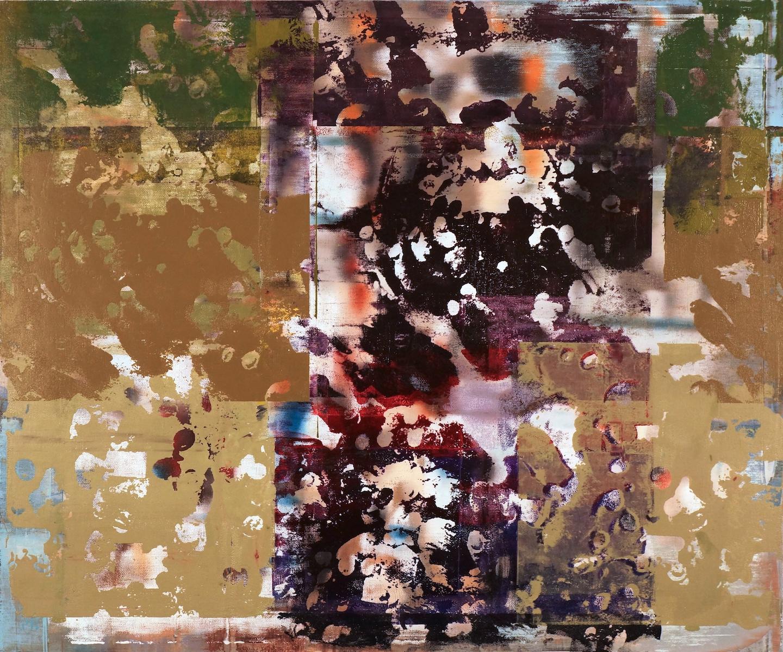 Buller I 2017 I Cluster and Flow I 40x48 I Oil on Linen