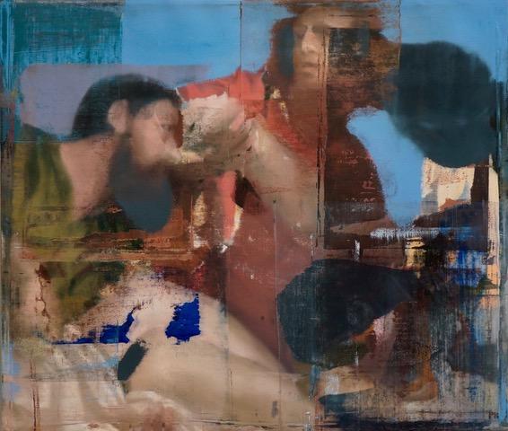 Buller I 2017 I Comedia I 48 x 56 I Oil on Linen