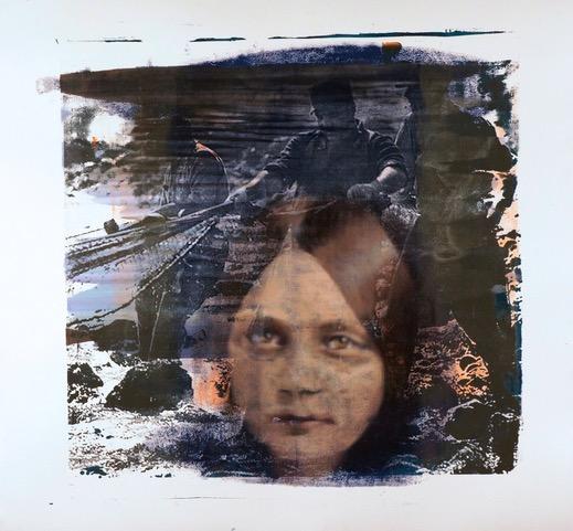 Buller I 2017 I Remember I 48 x 51 I Oil on Resin Paper