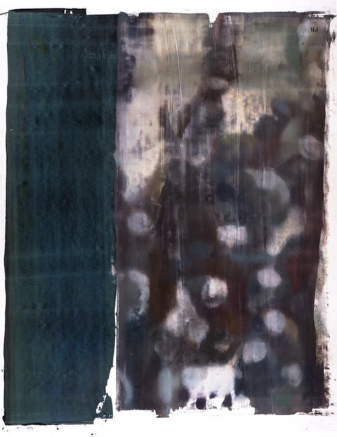Buller I 2017 I Silent Time I 66 x 51 I Oil on Resin Paper