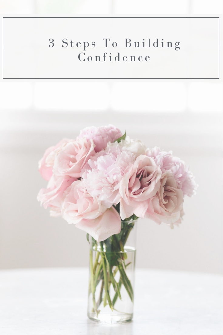3 steps to building confidence