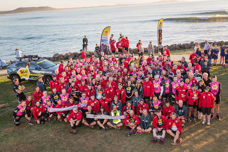 The collective strength of like minded people passionate to make a difference. TDC2016 at Crescent Head Beach, NSW.
