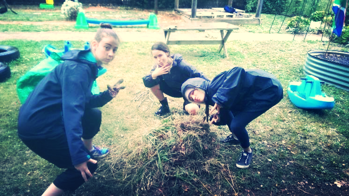 Some of our gardening team helping out Anglicare at SOUL IN THE BUSH