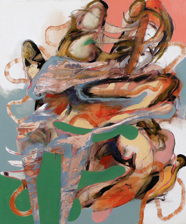 """Untitled (Laocoön Series) , 2010 Oil on canvas 24 x 20"""""""