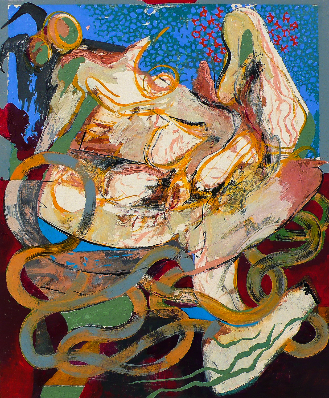 "Anchor (Laocoön Series) , 2010 Oil on canvas 24 x 20"""