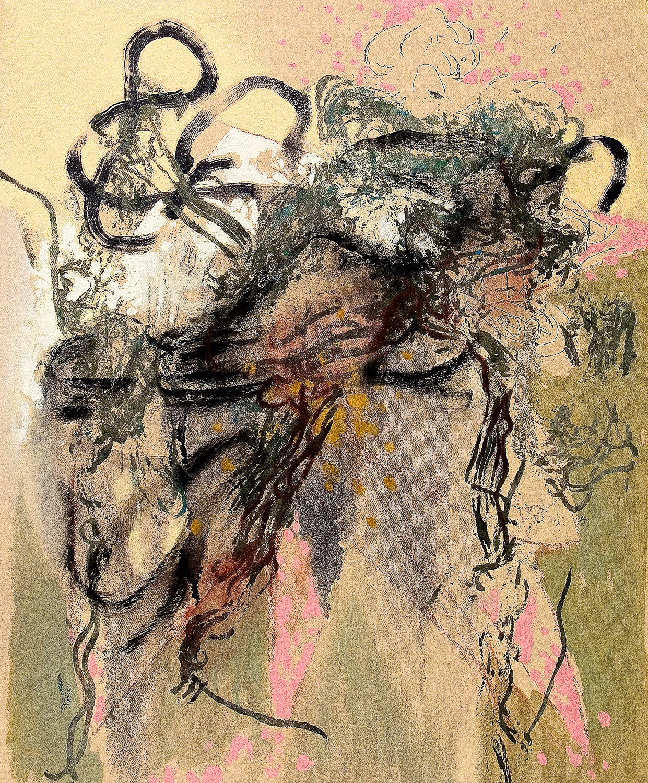 """Untitled (Laocoön Series) , 2011 Oil on canvas 24 x 20"""""""