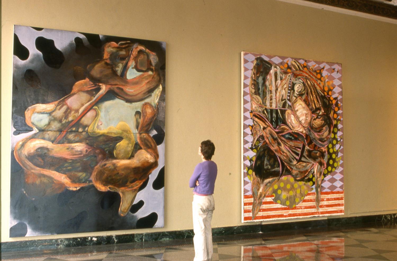 Installation View    MFA Thesis Exhibition, 2004   Boston University